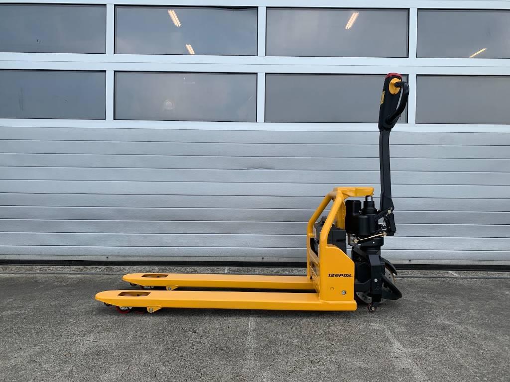 Hyundai elektrische pompwagen 12EPML palletwagen elektrisc, Electro-pallettrucks, Laden en lossen