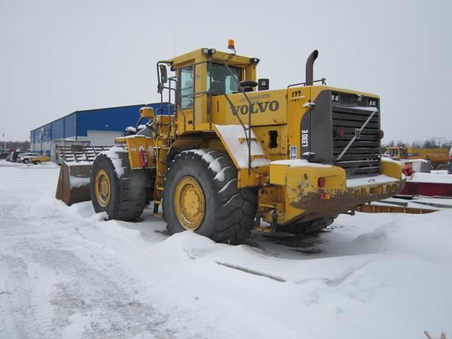 Volvo L 330 E, Hjullastare, Entreprenad