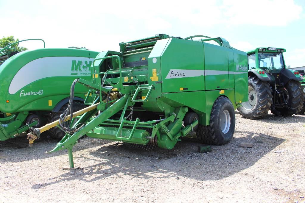 McHale Fusion 2, Prasy zwijające, Maszyny rolnicze