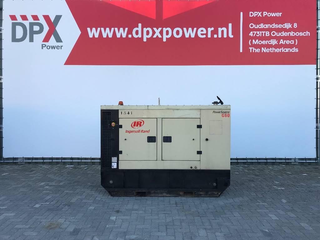 Ingersoll Rand G60 - John Deere - 60 kVA Generator - DPX-11308, Diesel generatoren, Bouw