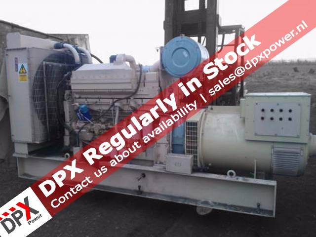 Cummins KTA19 Generatorset, Diesel generatoren, Bouw