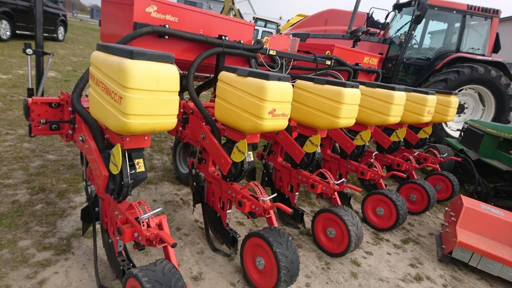 MaterMacc MS 4200, Siewniki punktowe, Maszyny rolnicze