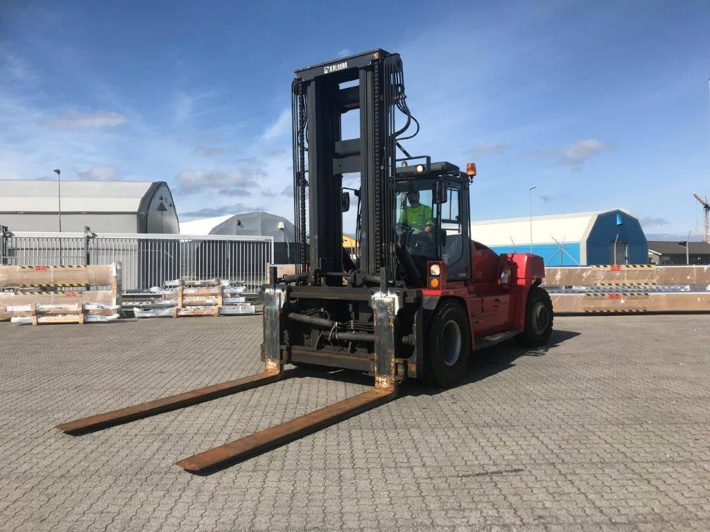 Kalmar DCG160-12, Dieseltrukit, Materiaalinkäsittely