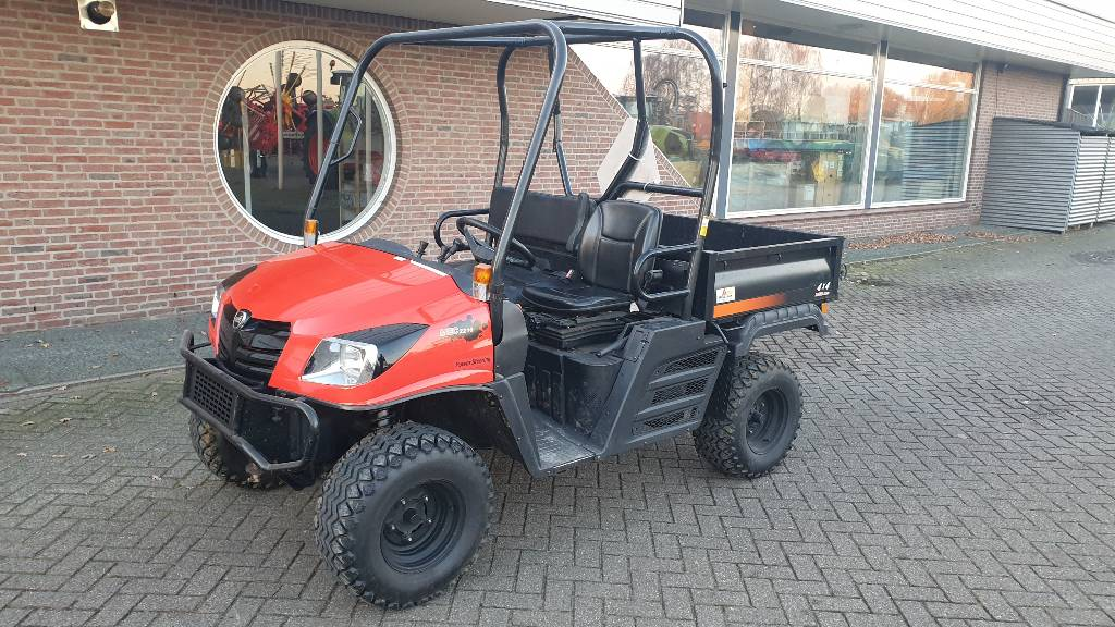 Kioti Mechron 2210, Utility equipment, Turfcare