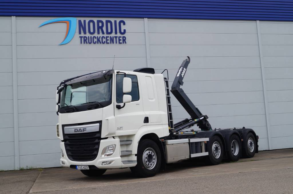 DAF CF 510 - 2017 Lastväxlare, Koukkulava kuorma-autot, Kuljetuskalusto