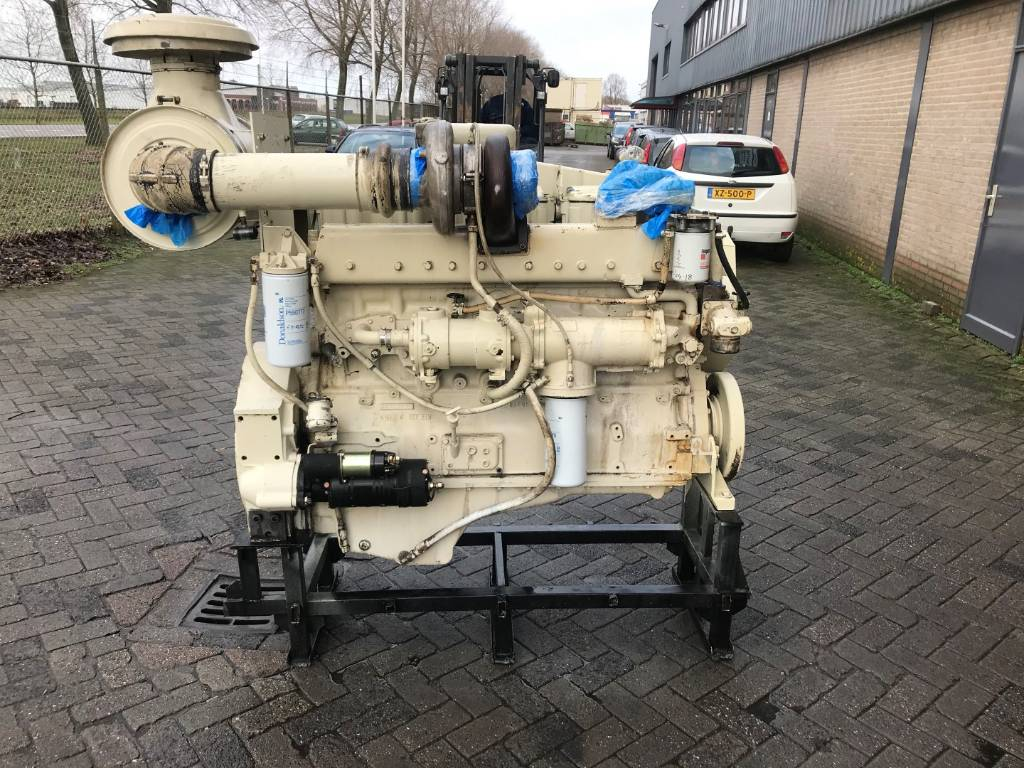 Cummins NT855M - Marine Propulsion - 261 kW - DPH 105831, Marine Applications, Construction