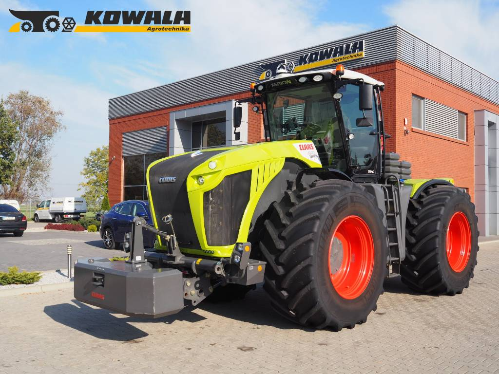 CLAAS Xerion 4500 TRAC (GPS - RTK NET)