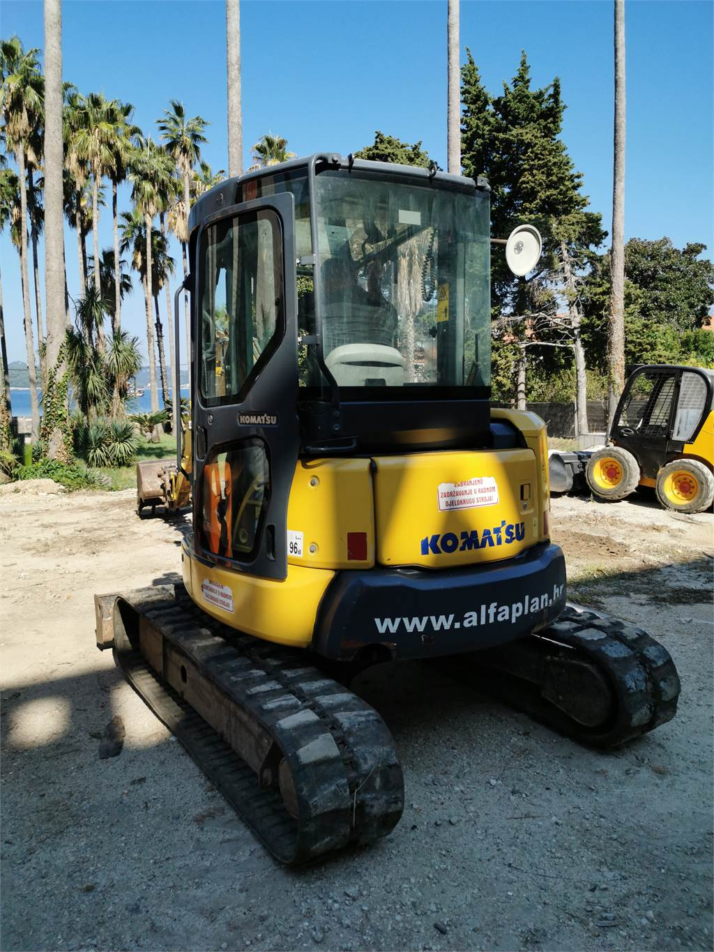 Komatsu PC55MR-3, Mini excavators, Construction Equipment