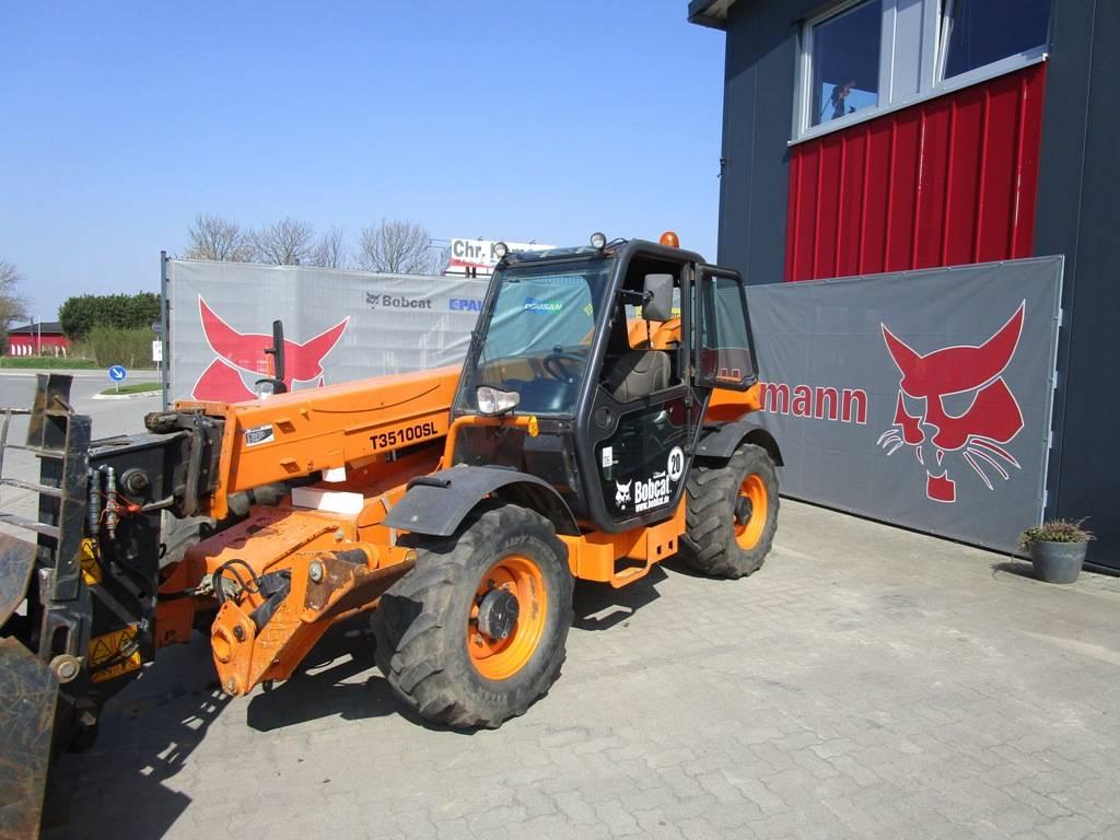 Bobcat T 35100 SL, Telescopic Handlers, Construction Equipment