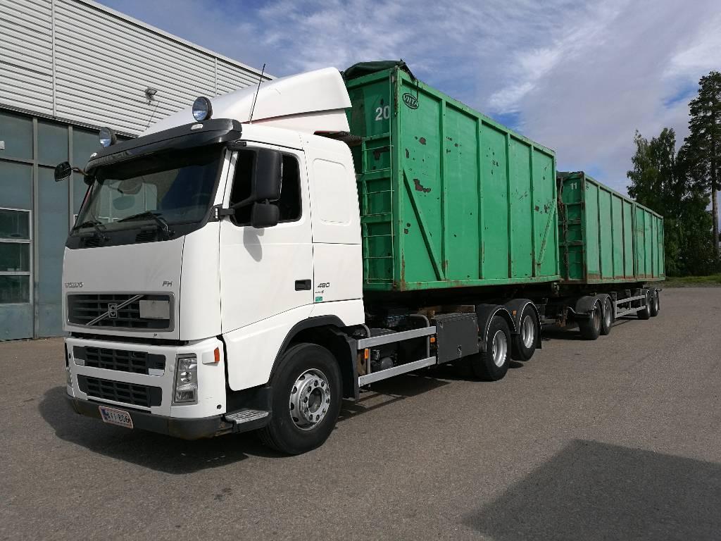 Volvo FH13, Vaihtolava-autot, Kuljetuskalusto