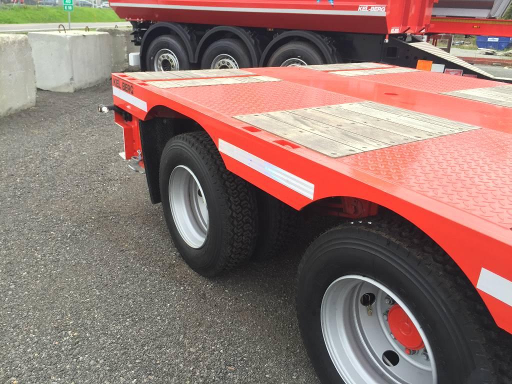 Kel-Berg KRANBIL-SEMI S600 H UTTREKK 10,30M TRIDEC styring, Andre hengere, Transport