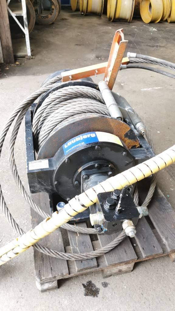 Champion Hydraulic winch 30 ton, Övriga tillbehör och komponenter, Materialhantering