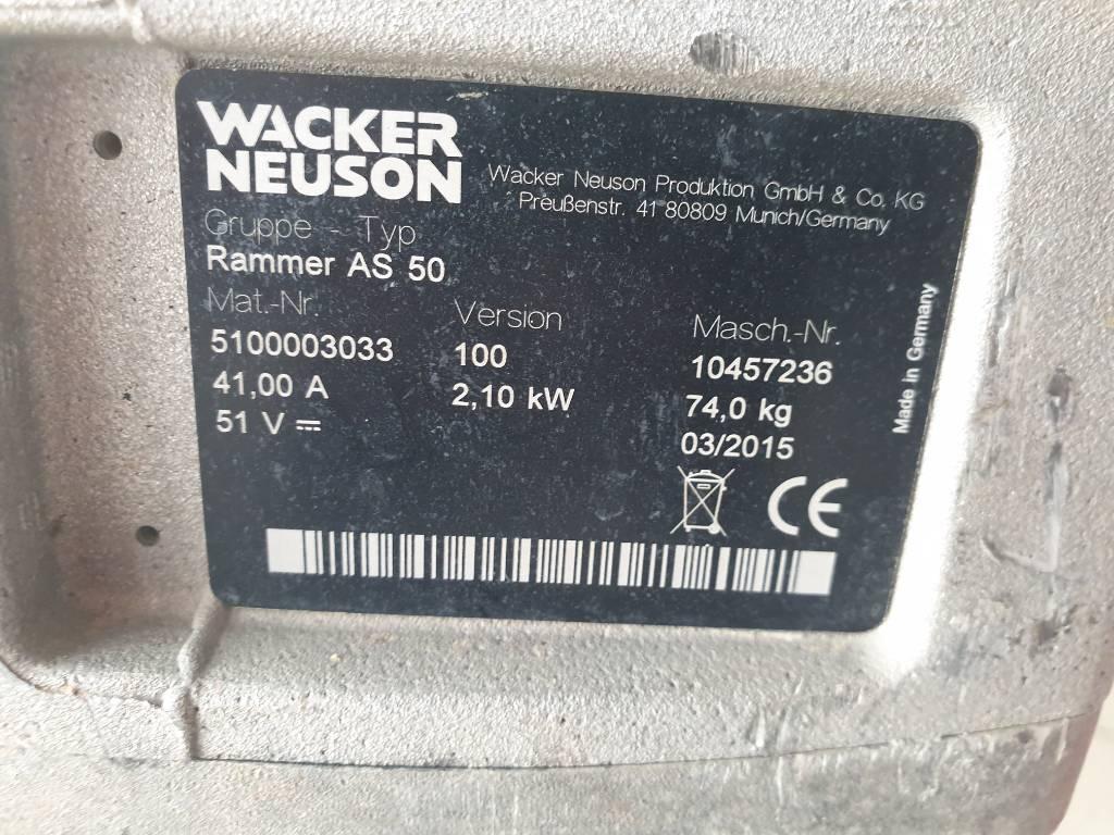 Wacker Neuson AS50, Vibratory Rammers, Products