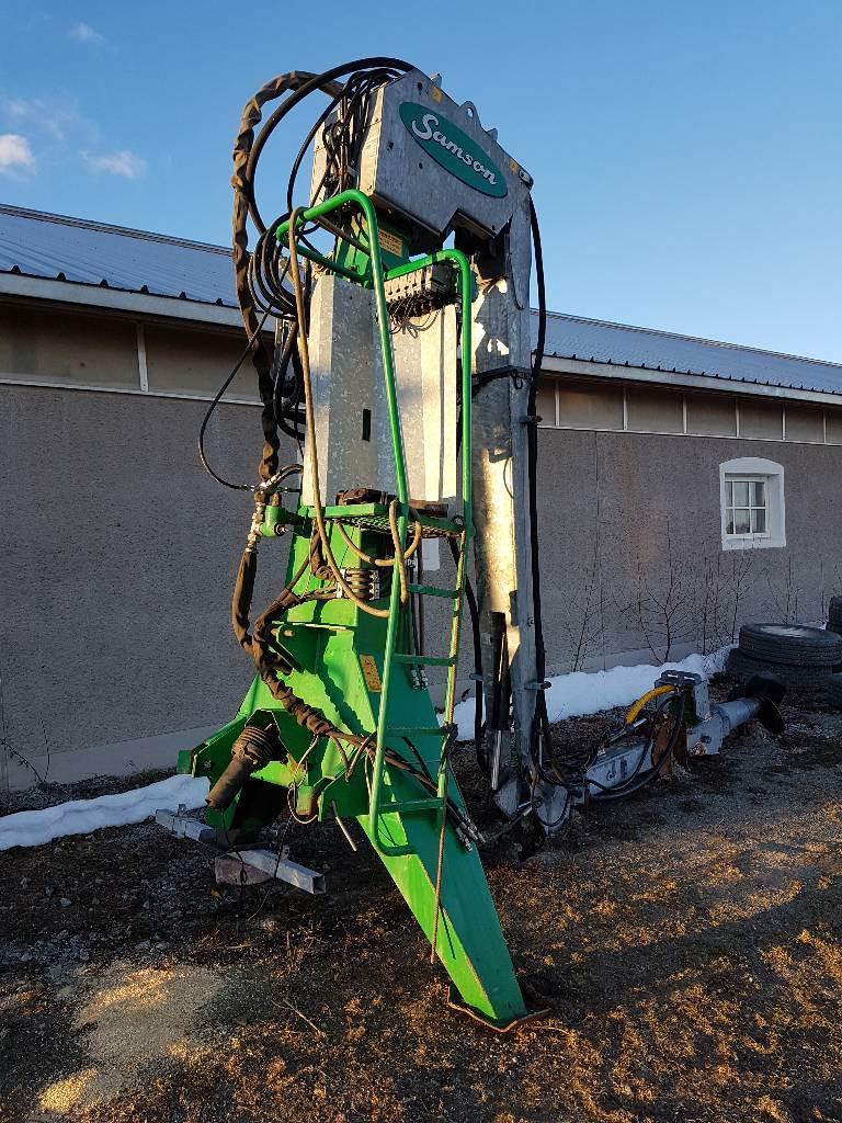 Samson RV 150, Pumper og røreverk, Landbruk