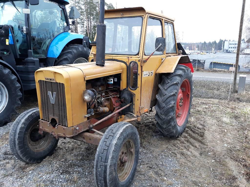 Valmet 500, Traktorit, Maatalous