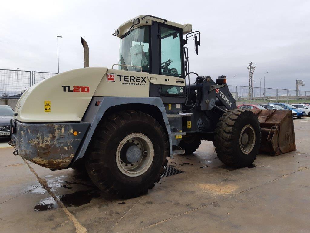 Terex TL 210, Cargadoras sobre ruedas, Construcción