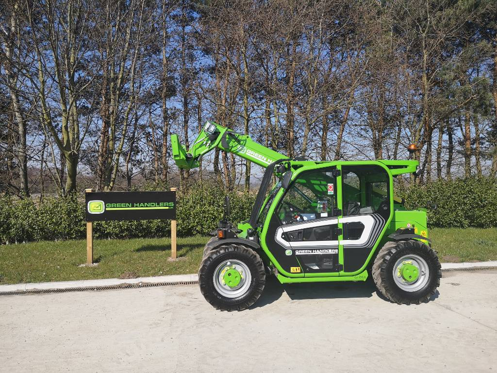 Merlo P 27.6 Plus, Telescopic handlers, Construction