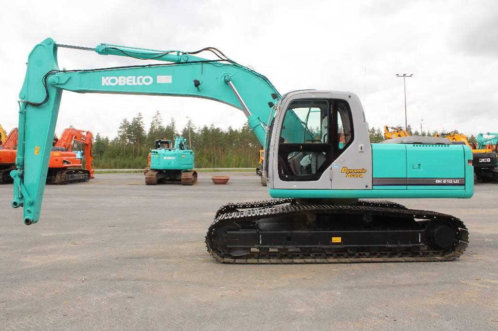 Kobelco SK 210 LC Dynamic Acera, Telakaivukoneet, Maarakennus