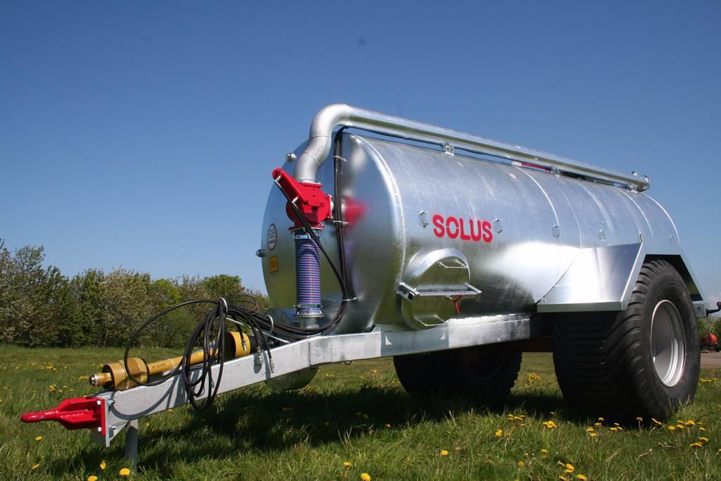 Solus GV12000 gjødselvogn, Gjødselspreder, Landbruk