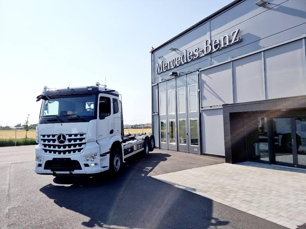 Mercedes-Benz Arocs 2553 L Lastväxlare JOAB, Lastväxlare/Krokbilar, Transportfordon