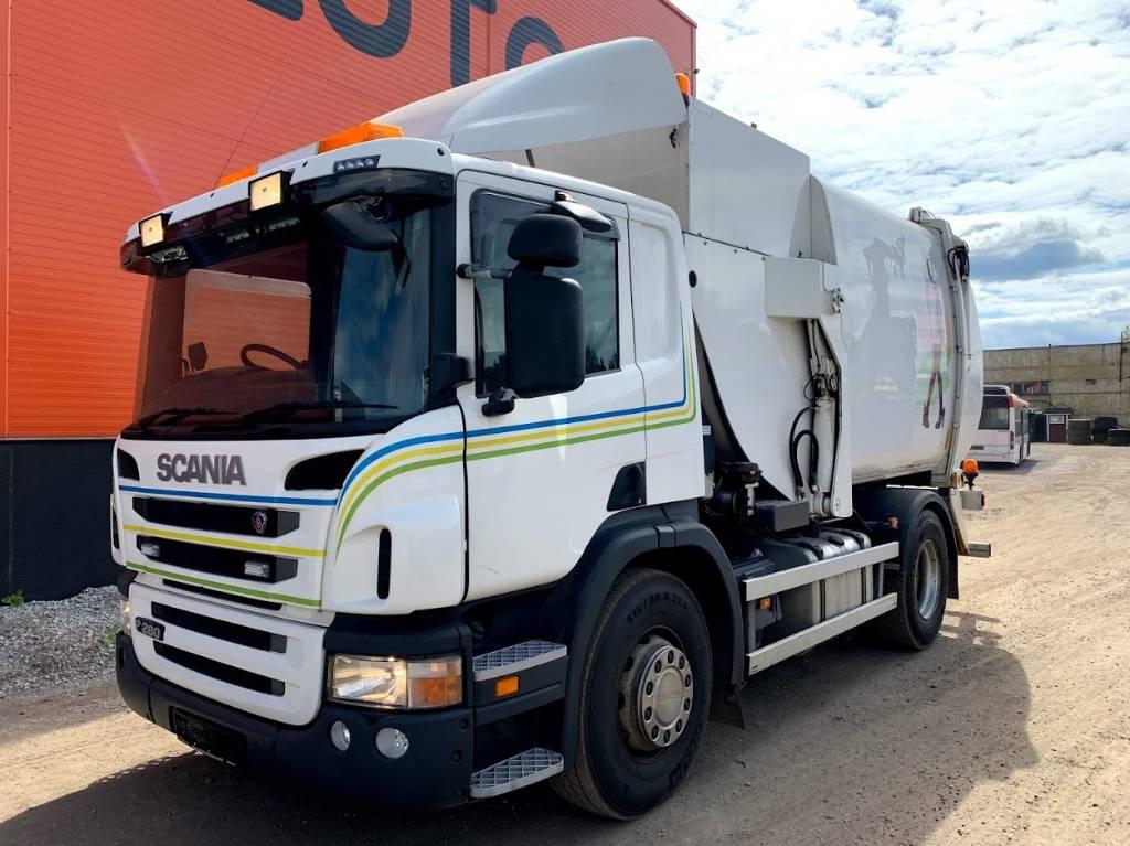 Scania P 280 Euro 5 NTM, Garbage Trucks / Recycling Trucks, Trucks and Trailers