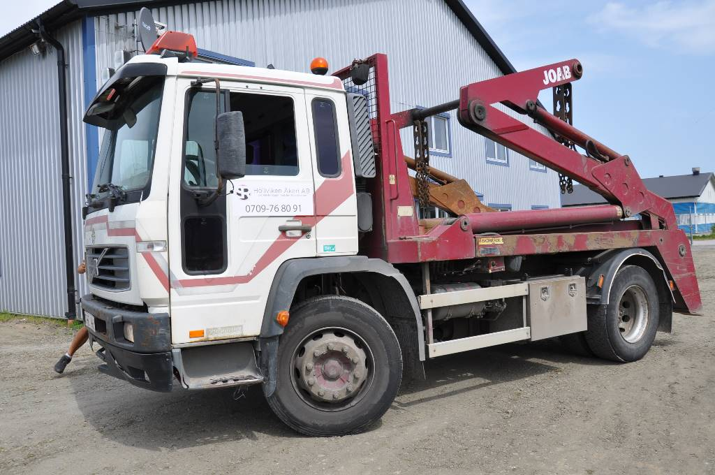 Volvo FL6 220 4X2, Liftdumperbilar, Transportfordon