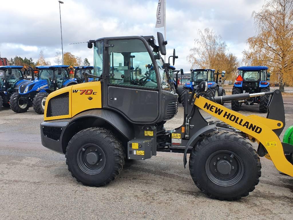 New Holland W70C Ny omg leverans!, Hjullastare, Entreprenad