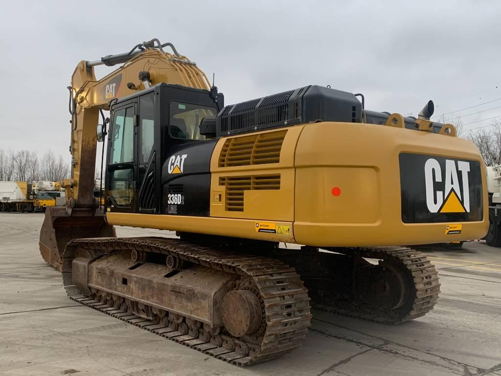 Caterpillar 336 D2 L ME, Crawler excavators, Construction