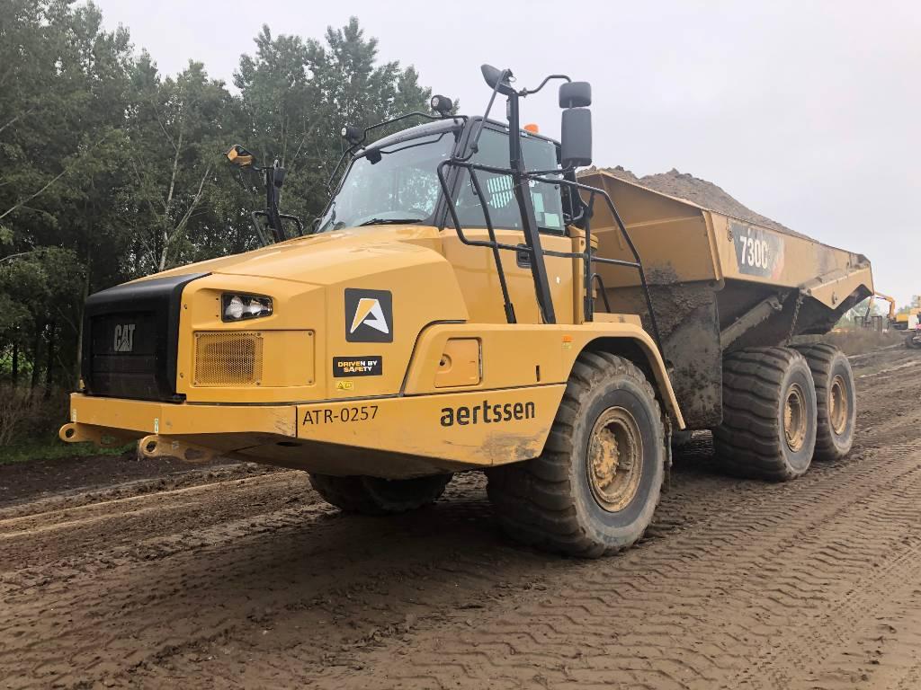 Caterpillar 730 C2 ( 2pcs), Articulated Dump Trucks (ADTs), Construction