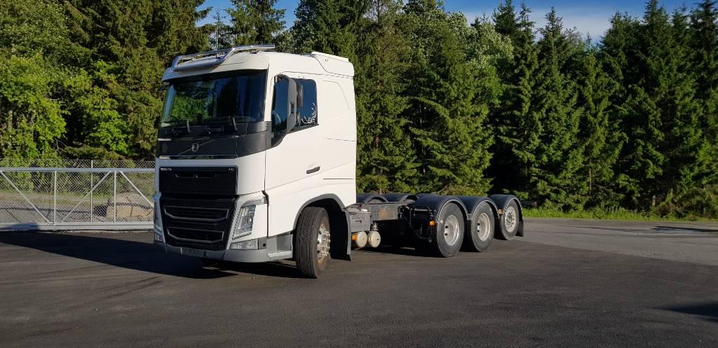 Volvo FH5408x4 ADR, Kuorma-autoalustat, Kuljetuskalusto