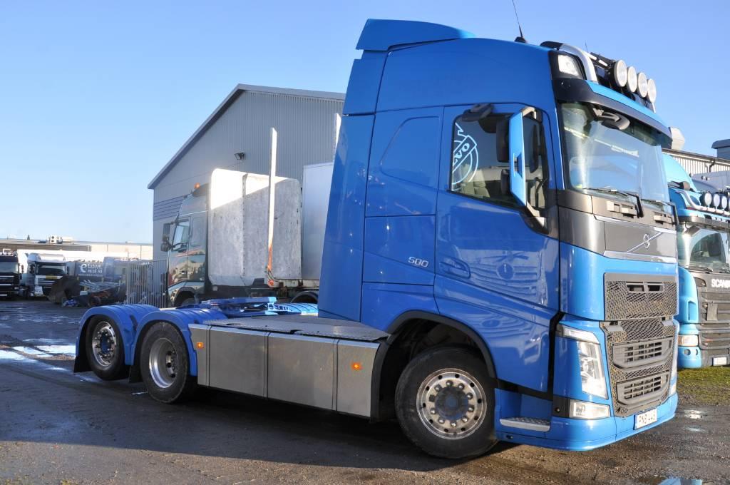 Volvo FH500 6X2, Dragbilar, Transportfordon