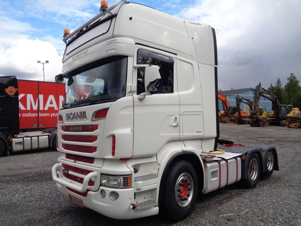 Scania R 560, Vetopöytäautot, Kuljetuskalusto