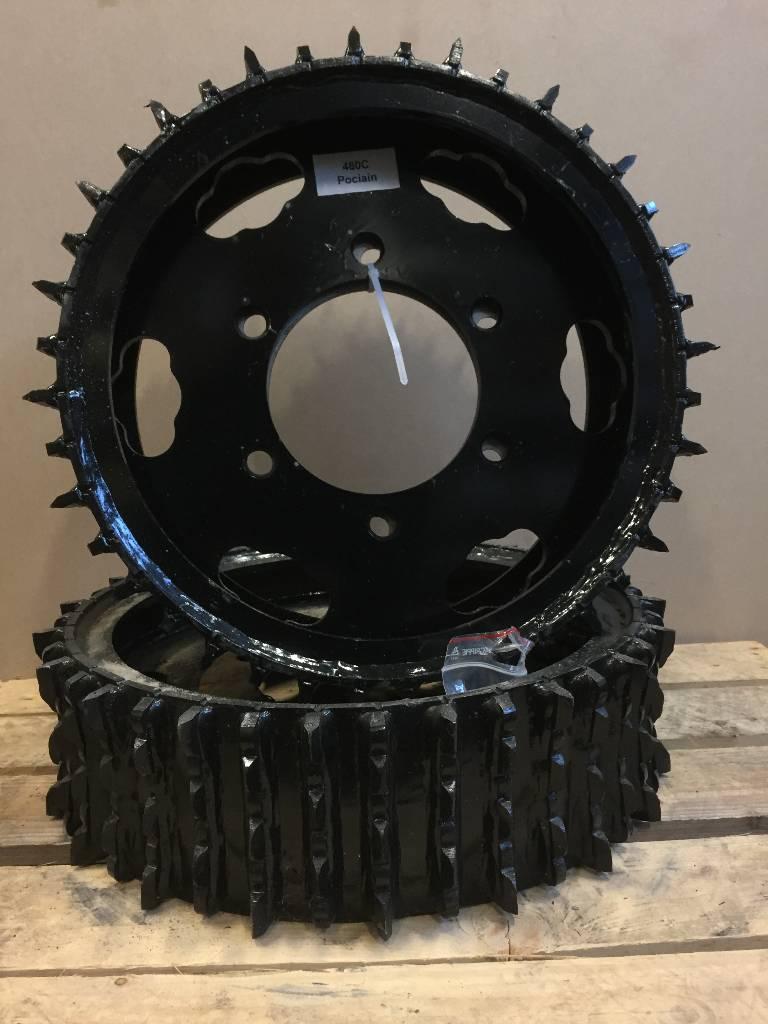 [Other] FINNSKOGSVALSEN Matarhjul 480C, Skördaraggregat, Skogsmaskiner