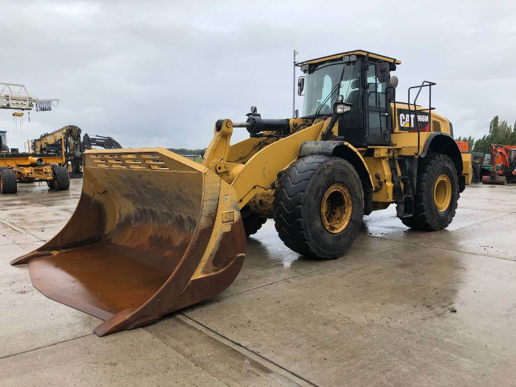Caterpillar 966 M, Wheel loaders, Construction
