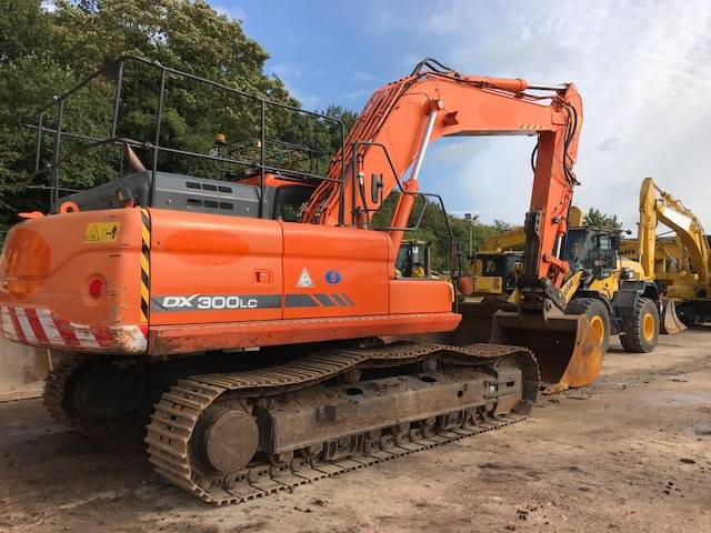 Doosan DX300LC-3, Crawler excavators, Construction