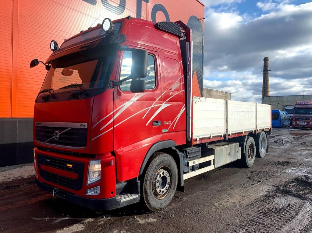 Volvo FH 540 Hydraulics + Crane ready, Flatbed Trucks, Trucks and Trailers