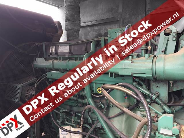 Volvo 1641 Generatorset, Diesel generatoren, Bouw