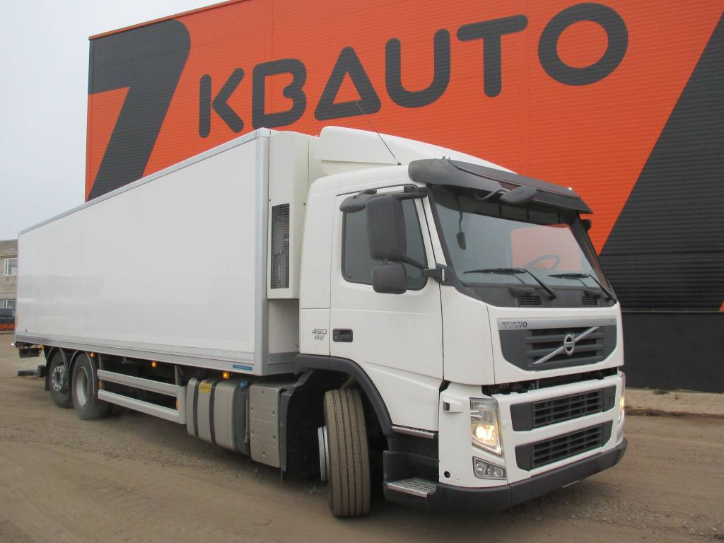 Volvo FM 370 + HULTSTEINS, Reefer Trucks, Trucks and Trailers