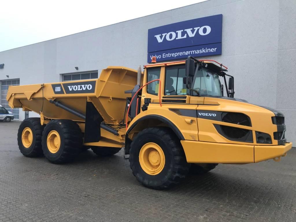 Volvo A30G, Rigid dump trucks, Construction Equipment