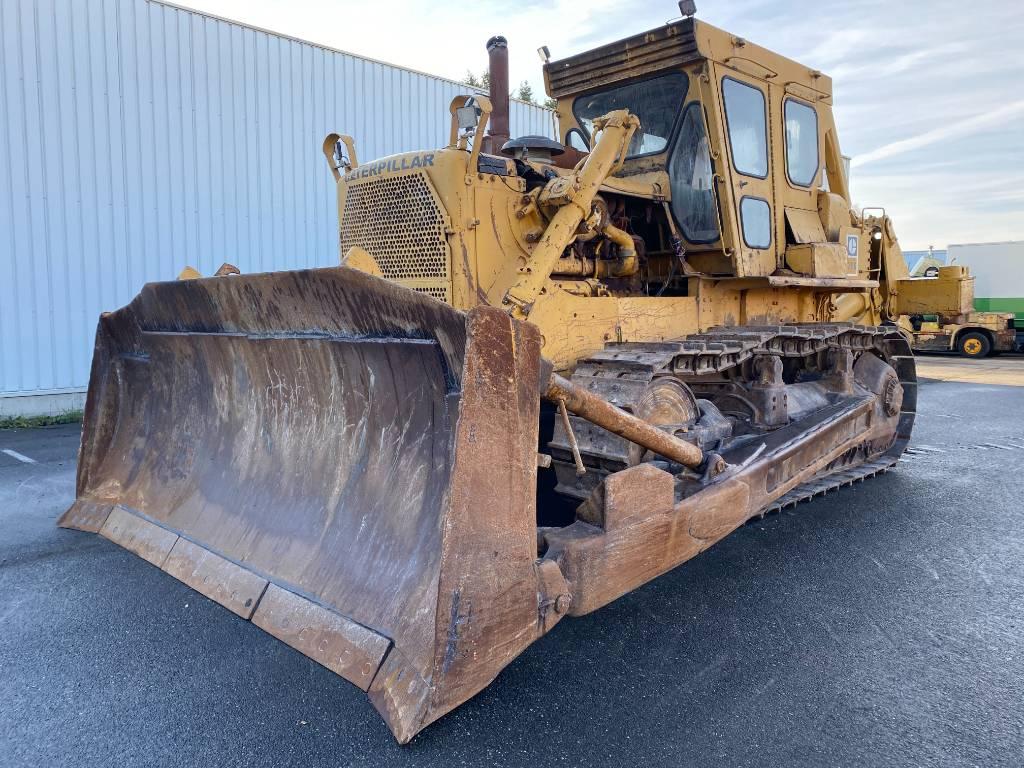 Caterpillar D 8 K, Crawler dozers, Construction