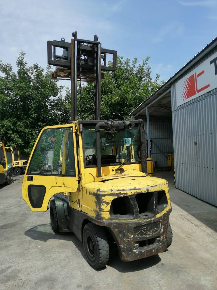 Hyster H4.0-FT6, Diesel counterbalance Forklifts, Material Handling