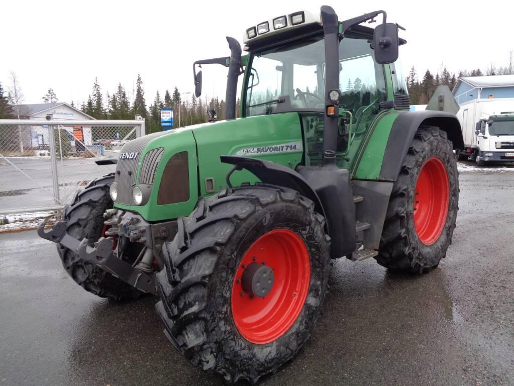 Fendt Favorit 714 Vario, Traktorit, Maatalous