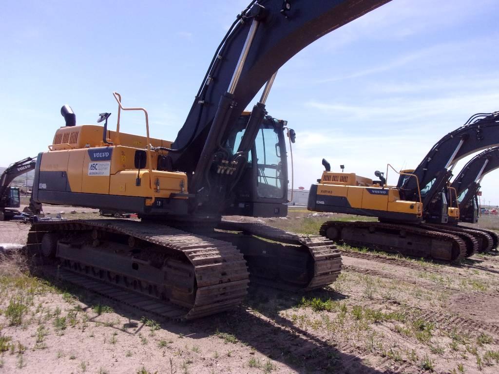 Volvo EC340DL, Crawler Excavators, Construction Equipment