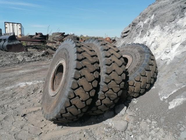 Michelin XHDT 18.00-25 inkl fälg 70%, Däck, hjul och fälgar, Entreprenad