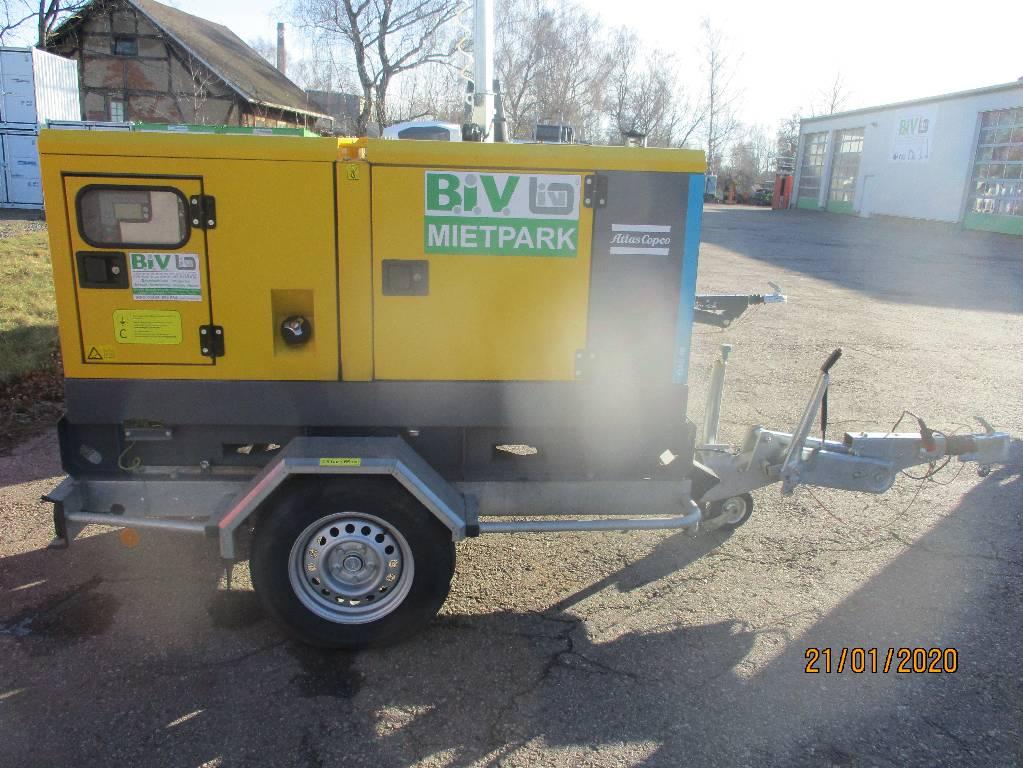 [Other] Altas Copco QAS 40, Diesel Generatoren, Baumaschinen