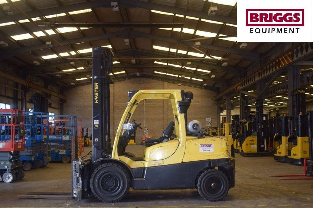 Hyster H 5.0 FT, LPG counterbalance Forklifts, Material Handling