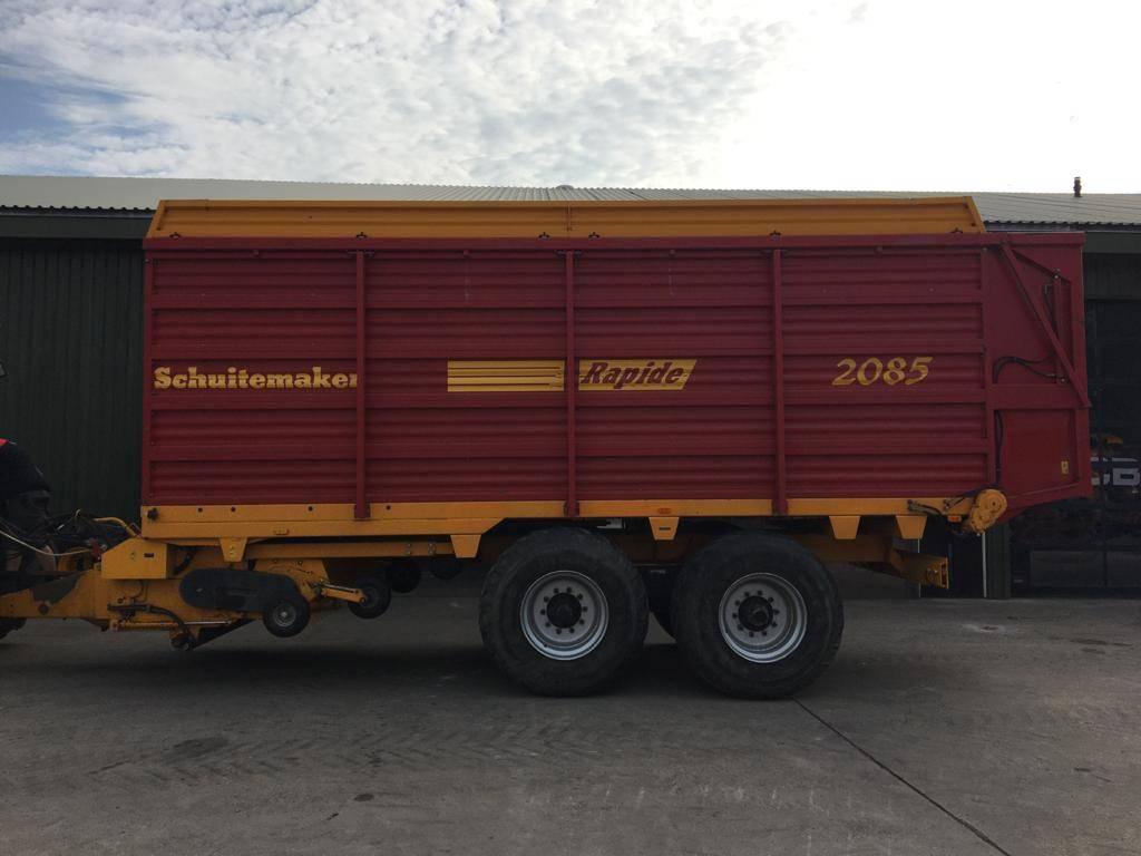 Schuitemaker Rapide 2085 S, Zelfladende aanhangers, Landbouw