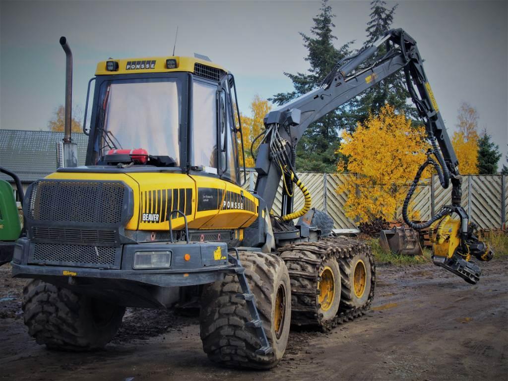 Ponsse Beaver 145 kw Engine, Harvesterit, Metsäkoneet