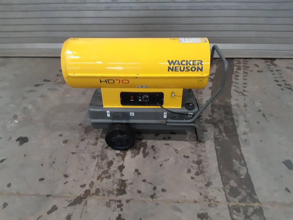 Wacker Neuson Heizgerät HD70, Air Heaters, Construction Equipment