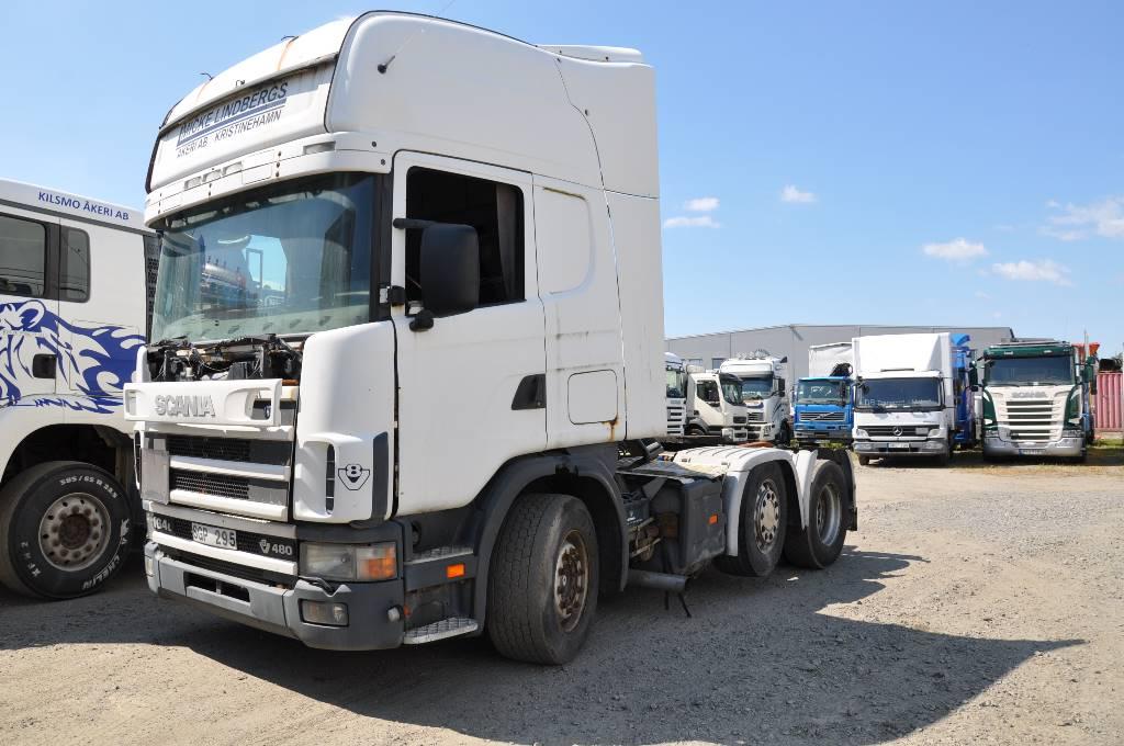 Scania 164 480 6X2, Dragbilar, Transportfordon